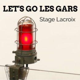 Let's Go Les Gars - Cover